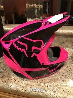 Ladies Fox Racing V1 Helmet MX Motocross Dirt Bike Off-Road ATV New In Box