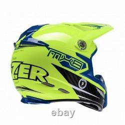 Lazer Motocross Helmet MX8 CARBON TECH MX Dirt Bike Adult L