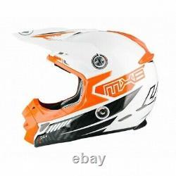 Lazer Motocross Helmet MX8 CARBON TECH MX Dirt Bike EX-SAMPLE Adult L
