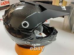Lazer Motocross Helmet MX8 PURE CARBON MX Dirt Bike Motorbike Adult XL
