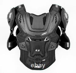 Leatt Chest Protector 5.5 Pro Dirt Bike MX Off-Road Black