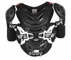 Leatt Chest Protector 5.5 Pro HD Dirt Bike MX Off-Road Black