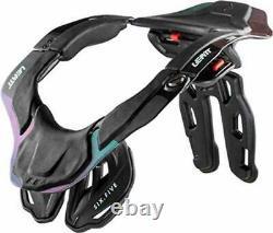 Leatt Neck Brace GPX 6.5 Carbon/Hologram MX Off Road ATV/UTV Dirt Free Shipping