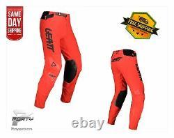 Leatt Pants Moto 5.5 I. K. S RED MX Motocross Off Road Dirt Bike ATV/UTV