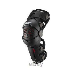 Leatt Z-Frame Knee Brace Black Off-Road/MX/ATV/Motocross/Dirt Bike 501901025