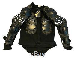 Motocross ATV Racing Fox Racing Black Chest Protector Adult XXL Dirt Bike