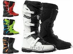Motocross Mx Off Road Boots Thor Blitz XP Mens Quad Dirt Bike ATV Race Sports