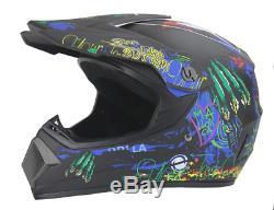 Motorcycle Unisex Helmet ATV Dirt Bike Downhill Cross Motocross Off Road