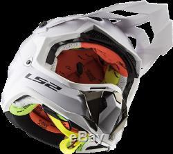 Mx Helmet Of Road Motocross Helmet Dirt ATV Quad Bike LS2 MX470 Subverter White