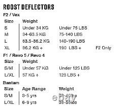 NEW EVS F2 Roost Deflector MX Motocross Off Road Dirt Bike ATV/UTV Free Shipping