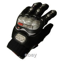 NEW Motorcycle Motocross MX ATV Dirt Bike Racing Textile Gloves Black M L XL SZ