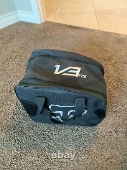 New 2020 Fall Fox Racing V3 RS Solids Helmet Black Size Small MX ATV Dirt 100%