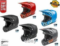 New 2021 Fly Racing Formula CC Primary Helmet MX Off Road Dirt Bike ATV/UTV
