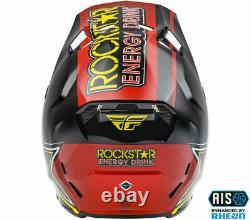 New 2021 Fly Racing Formula CC ROCKSTAR Helmet MX Off Road Dirt Bike ATV/UTV