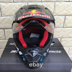New 2021 Motorcycle Helmet Red Bull Limited Edition MX ATV Dirt Bike Full Face
