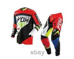 New Fox 360 intake Motocross Jersey & Pant Combo Dirt Bike Off-Road MTB ATV BMX