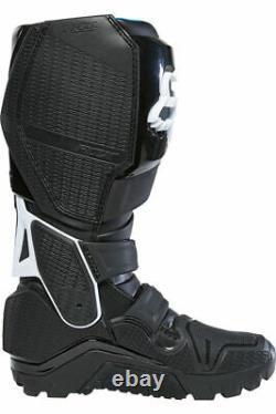 New Fox Racing Instinct X Motocross Boots Black Size 11 MX ATV Dirt Offroad