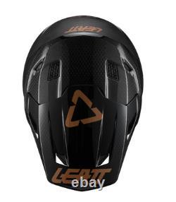 New Leatt Helmet Kit Moto 9.5 Carbon Goggle Included Mx Off Road Dirt Bike ATV