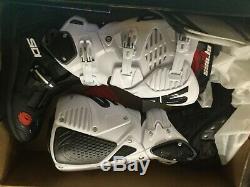 New Sidi Crossfire 3 Srs Motocross Boots Size 8.5 Eur 42 Atv Dirt Bike Fox Astar