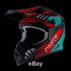 ONeal 2 Series Spyde 2.0 Adult Off Road Motocross ATV Quad Dirt Bike Helmet
