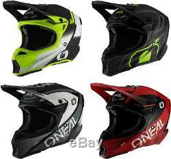 O'Neal 10 Series Helmet MX Motocross Dirt Bike Off-Road ATV Mens Womens Adult