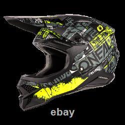 O'Neal 2021 3 Series Helmet Ride Off-Road/MX/ATV/Motocross/Dirt Bike 0627-13