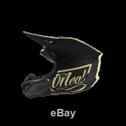 O'Neal 5 Series Helmet 2020 Black/Beige MX Motocross Off-Road Dirt Bike ATV