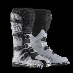 O'Neal Element Boots MX Motocross Dirt Bike Off-Road ATV Mens Gear Gray