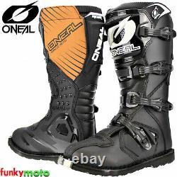 O'Neal Motocross & Off-Road Boots MX Racing Rider Boots Dirt Bike ATV Quad Mens