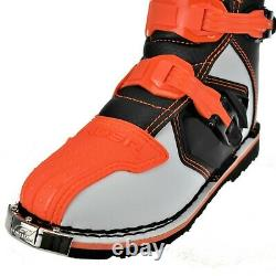 O'Neal Rider MX Adult Motocross Boots Off Road Adventure Dirt ATV Quad Orange