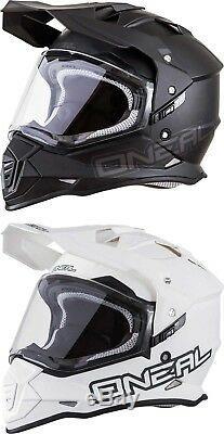 O'Neal Sierra II Helmet MX Motocross Off-Road Dirt Bike ATV Enduro Dual Sport