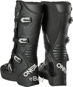 Oneal RMX Motocross Boots MX Off Road Dirt Bike ATV Racing Boots Black EU42