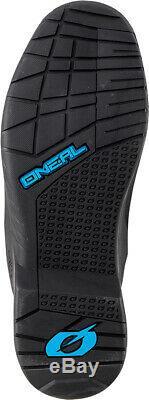 Oneal RMX Motocross Boots MX Off Road Dirt Bike ATV Racing Boots Black EU43