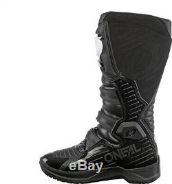 Oneal RMX Motocross Boots MX Off Road Dirt Bike ATV Racing Boots Black EU45