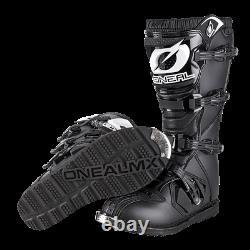 Oneal Rider Boots 2021 Motocross MX ATV Quad Dirt Race Bike New Black