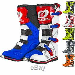 Oneal Rider EU Motocross Boots MX Off Road Dirt Bike ATV Racing Boot All Sizes