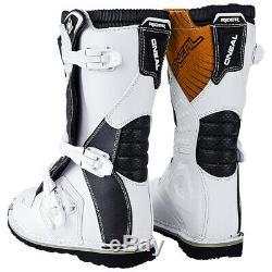 Oneal Rider Kids Motocross Boots MX Off Road Dirt Bike ATV Racing Boots