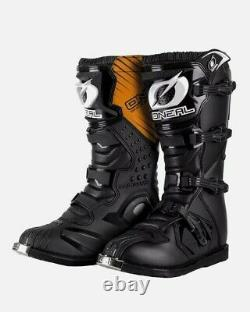 Oneal Rider Motocross Boots MX Off Road Dirt Bike ATV Quad Racing Boots Size 47