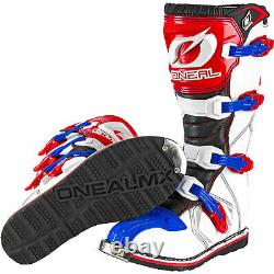 Oneal Rider Motocross Boots MX Off Road Dirt Bike ATV Racing Boot All Sizes