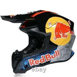 Red Bull Motocross Helmet ATV MX BMX Dirt Bike Motocross Racing Sport Helmet