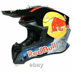 Red Bull Motocross Helmet Motorcross ATV BMX MX Dirt Bike Racing Sport Helmet