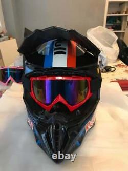 Red Bull Motocross Helmet Motorcross ATV BMX MX Dirt Bike Racing Sport Helmet KT