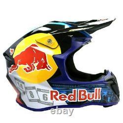 Red Bull Motocross Helmet Motorcross ATV MX BMX Dirt Bike Racing Sport Helmet