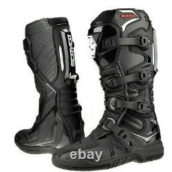 SCOYCO Adult Motocross Boots CE Certified Sports Enduro atv Dirt Bike Racing