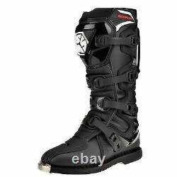 SCOYCO CE Motocross Boots Enduro Dirt Bike Racing ATV MX Off Road Black