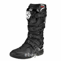 SCOYCO RMX CE Motocross Boots Enduro Dirt Bike Racing ATV Off Road Black UK10