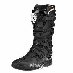SCOYCO RMX CE Motocross Boots Enduro Dirt Bike Racing Off Road Black UK7/ EU41