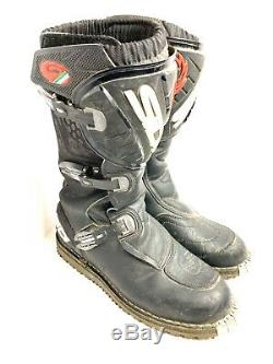 SIDI Charger MX Motocross Dirt BIKE Off Road ATV Mens Boots Size 11.5
