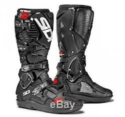 SIDI Crossfire 3 SRS Black Boots Off-road Mx Motocross Enduro Dirt Bike ATV