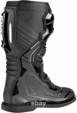 Scoyco CE Motocross Boots Enduro Quad Dirt Bike Racing ATV Off Road Boots Black